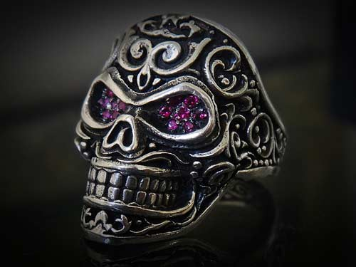 Red Ruby And 925 Sterling Silver Quot Eyes Of The Beholder