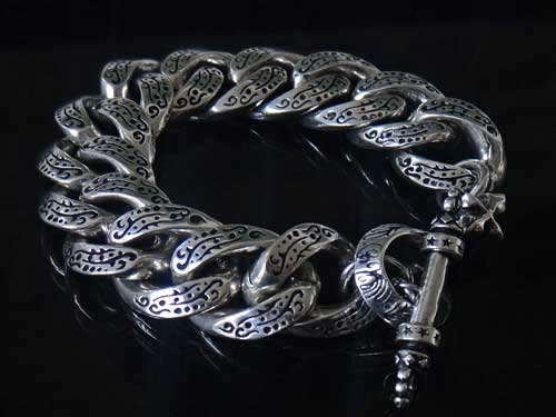 Sterling Silver Bracelet For Men Handmade Usa S1ck Jewelry