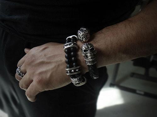 Rockstar Bracelet For Men S1ck Jewelry