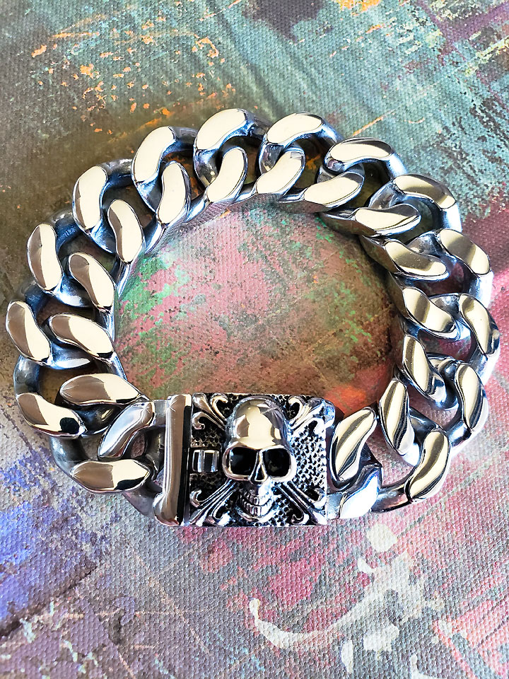 Heavy Stainless Steel Bracelet